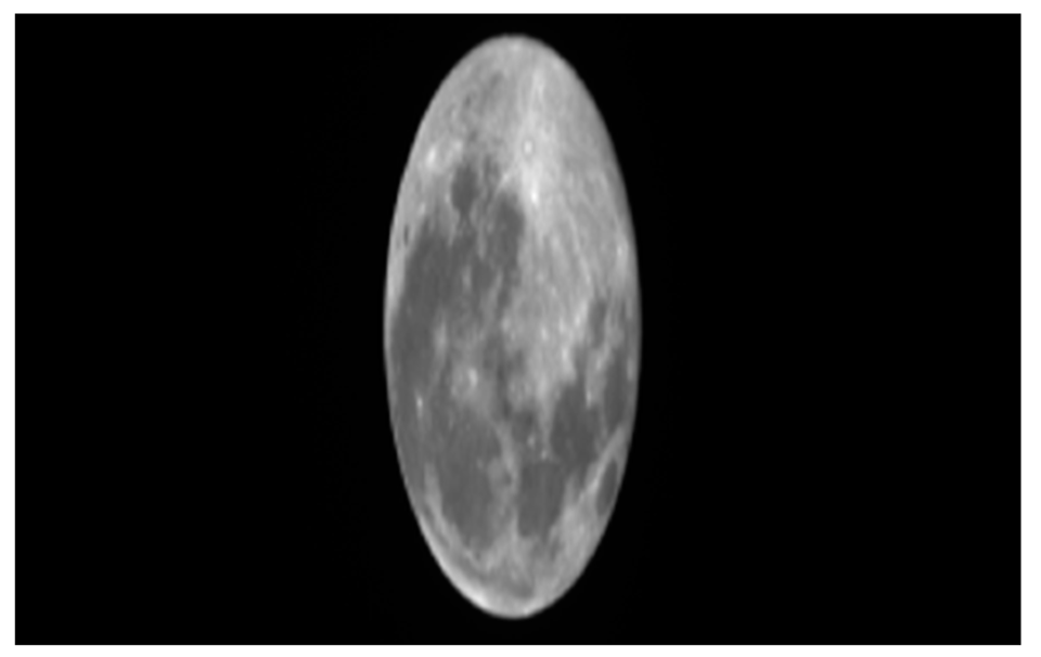 The Moon seen by ESA's Proba-V