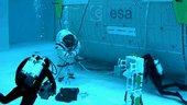 Mondspaziergänge unter Wasser