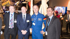 [11/21] Visit of Dr Rolf Bosinger to the Space Pavilion at ILA Berlin