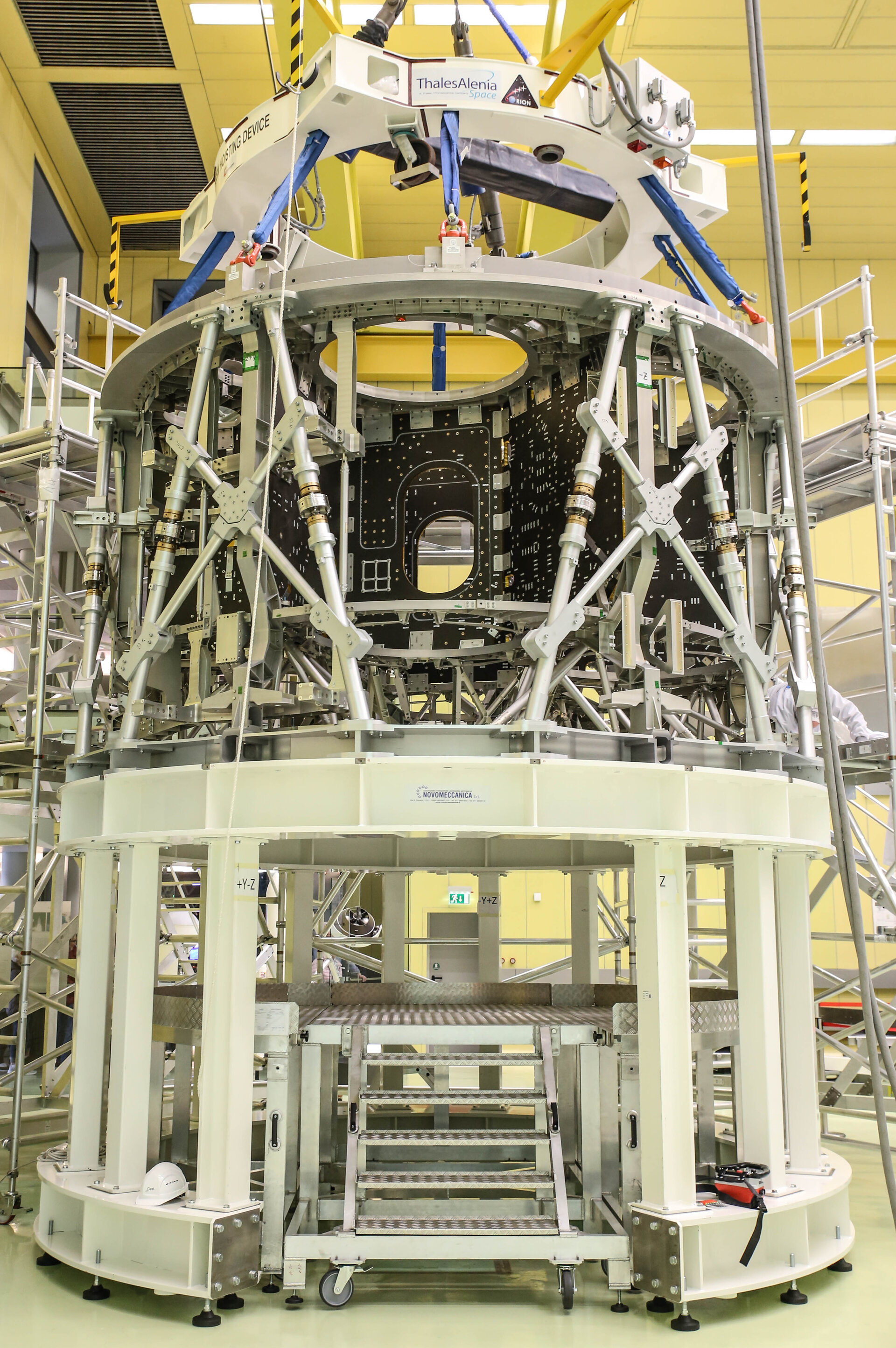 European skeleton for Orion