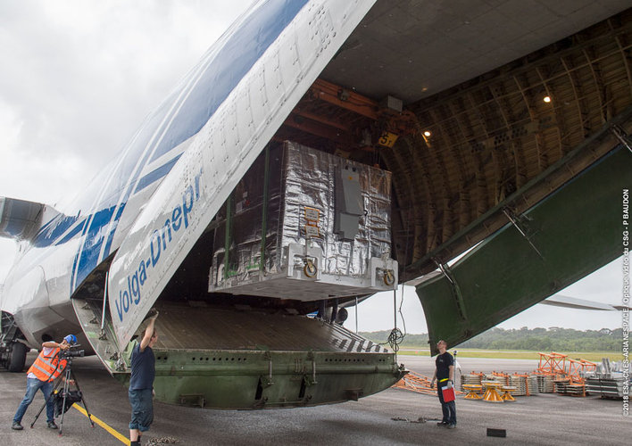 MMO arrives in Kourou