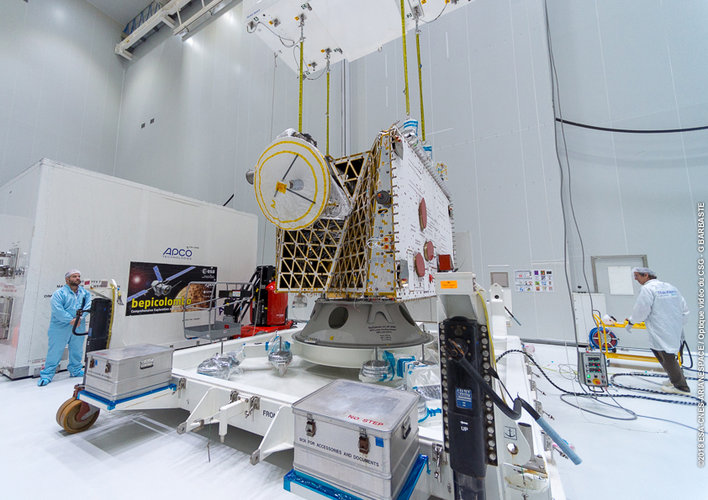 MPO unpacked at Europe's Spaceport
