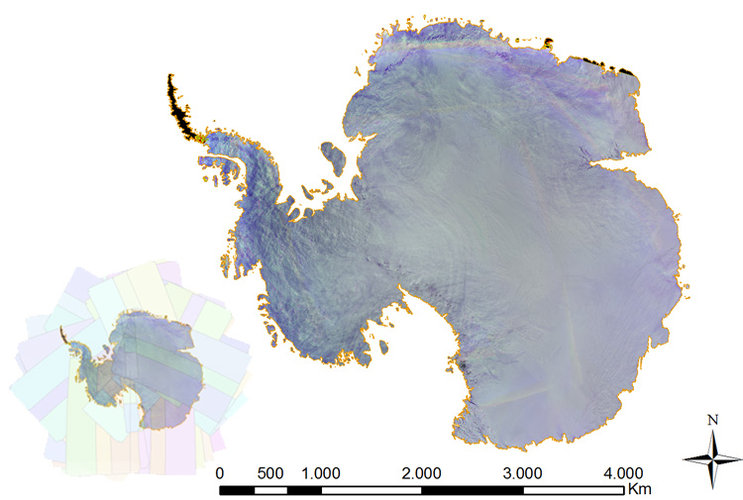 Proba-V Antarctic survey