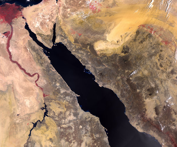 Red Sea from Sentinel-3B