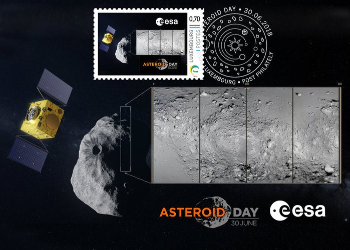 Asteroid Day Postcard