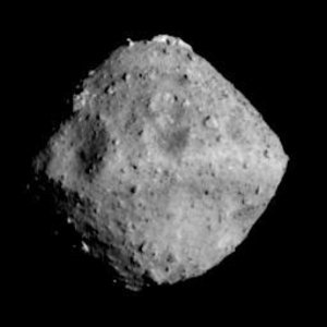 Asteroid Ryugu seen by Japan's Hayabusa2