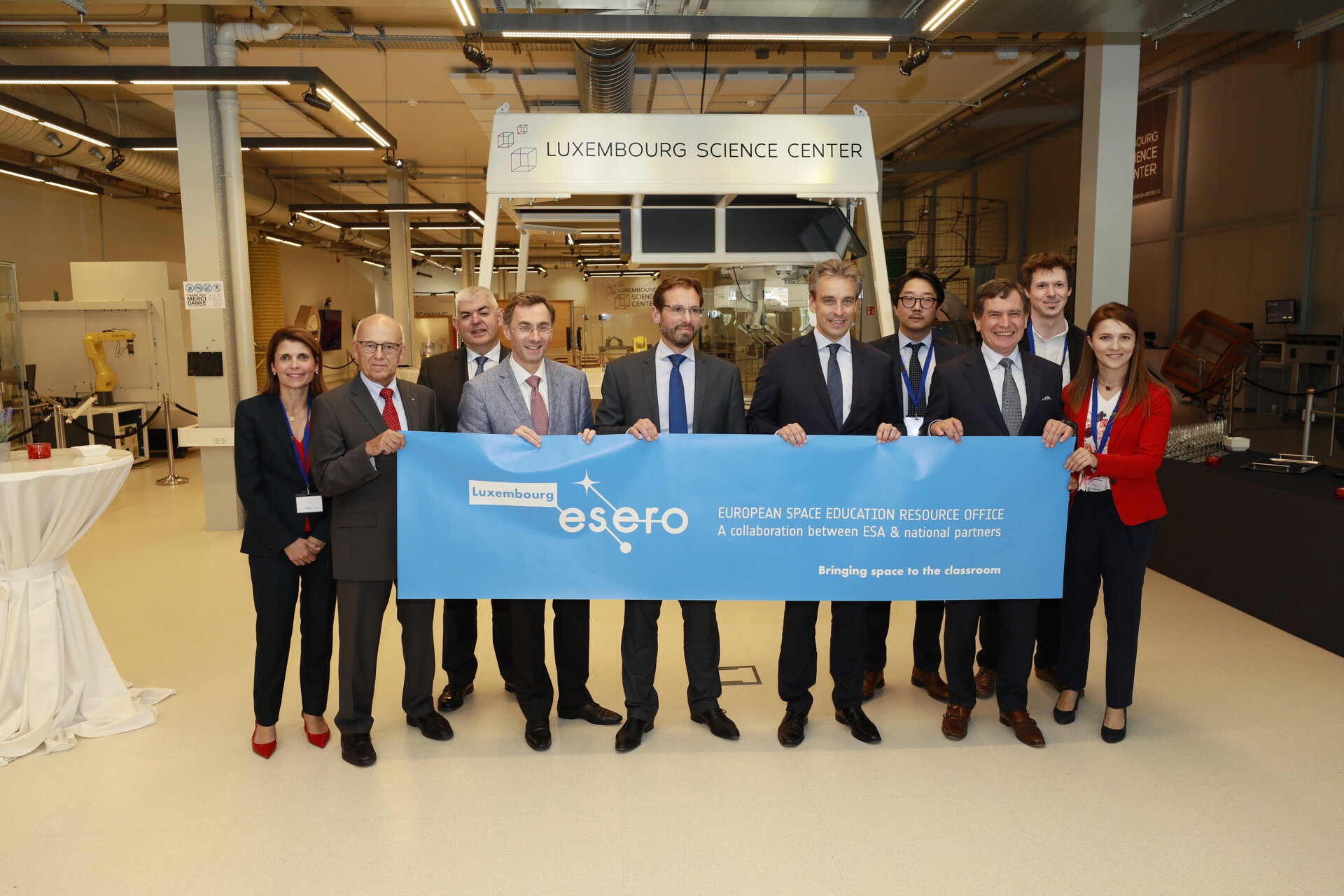 Official launch of ESERO Luxembourg