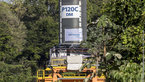 [5/8] P120C rocket motor transfer to test stand at Europe's Spaceport