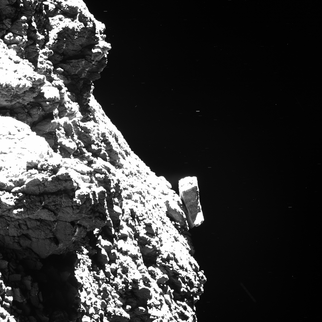 Philae waving