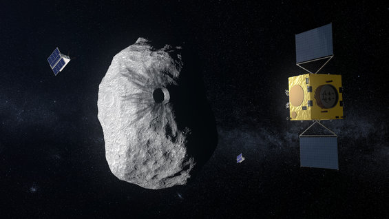 Asteroids close up