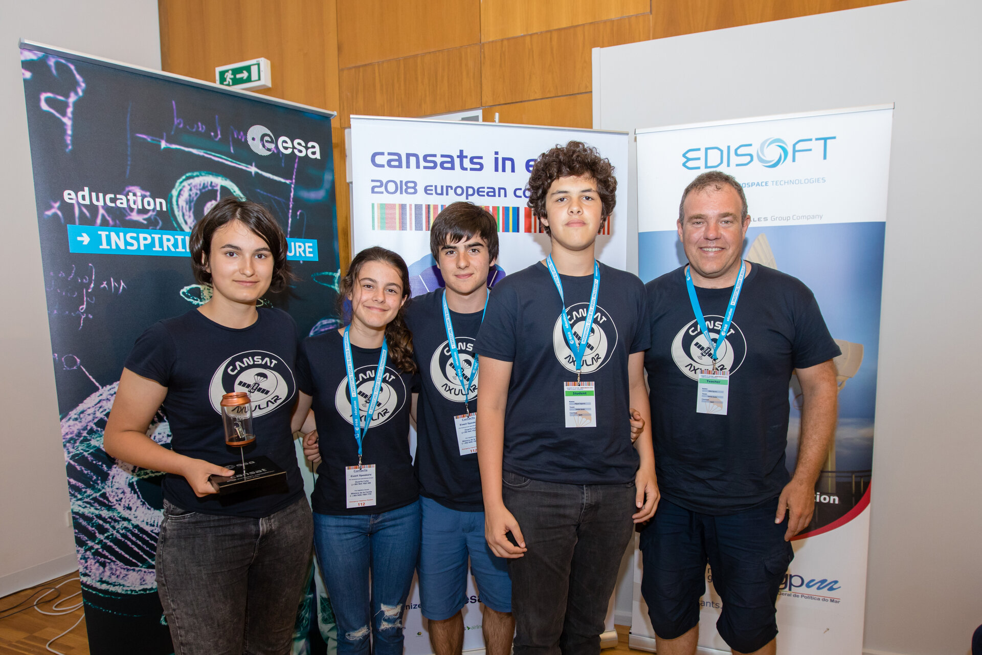 3rd prize: Team CanSat Axular from Axular Lizeoa, Spain