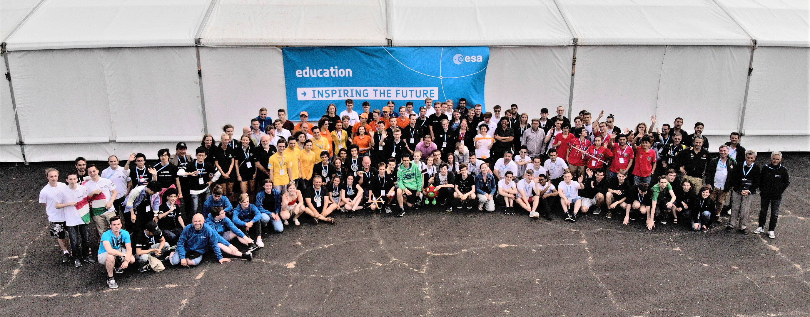 European Cansat Competition 2018 - group photo