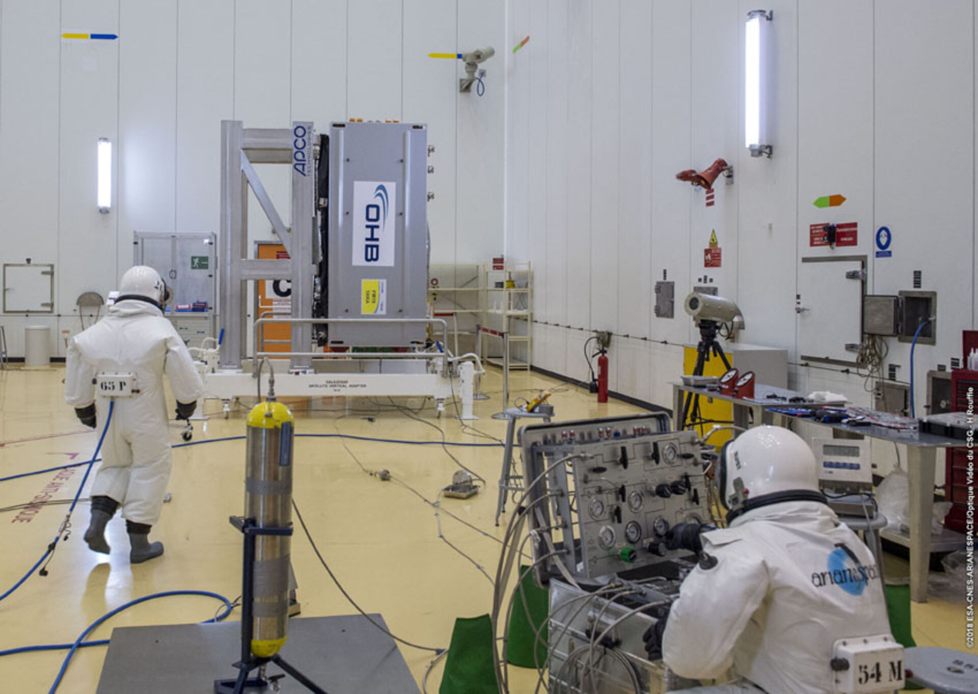 Fuelling Galileo satellites