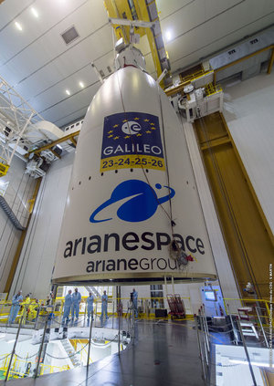 Galileo fairing