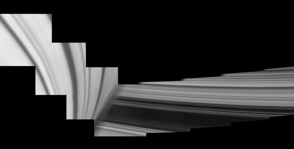 Saturn's inside-out rings