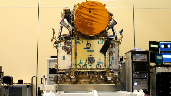 The integrated Cheops satellite