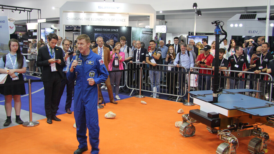 Tim Peake announces ExoMars rover naming competition