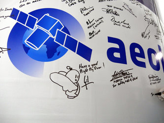 Aeolus fairing sticker signed