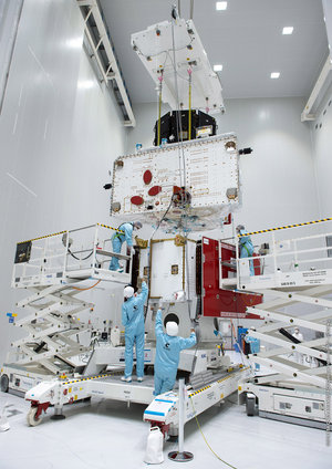 BepiColombo stack 'fit check'