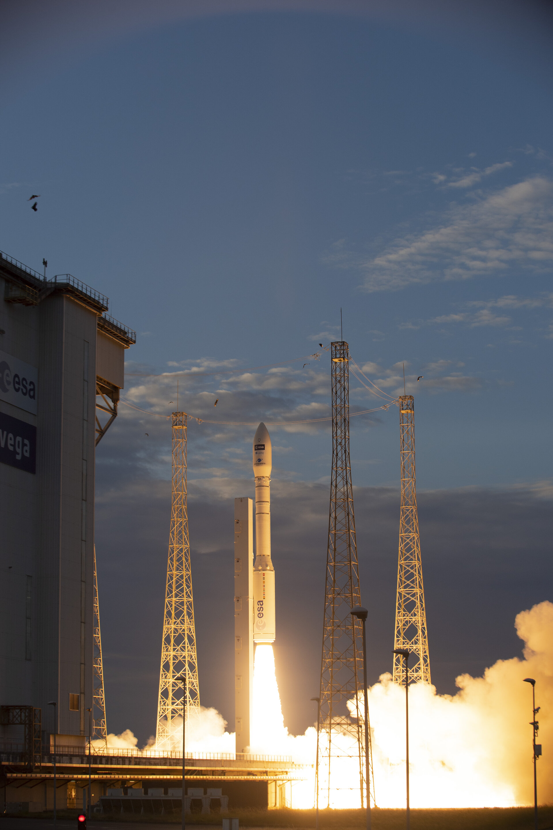 ESA's wind mission lifts off