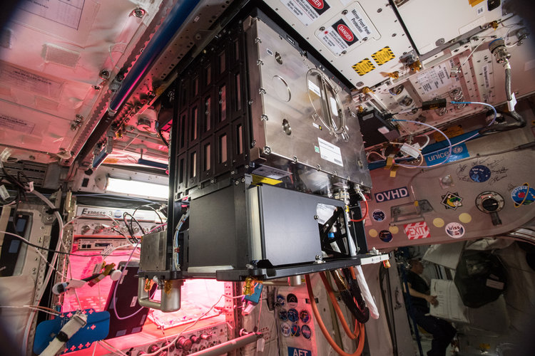 The Fluid Science Laboratory on the Space Station gets upgraded