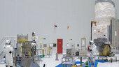 wind satellite fuelled for flight