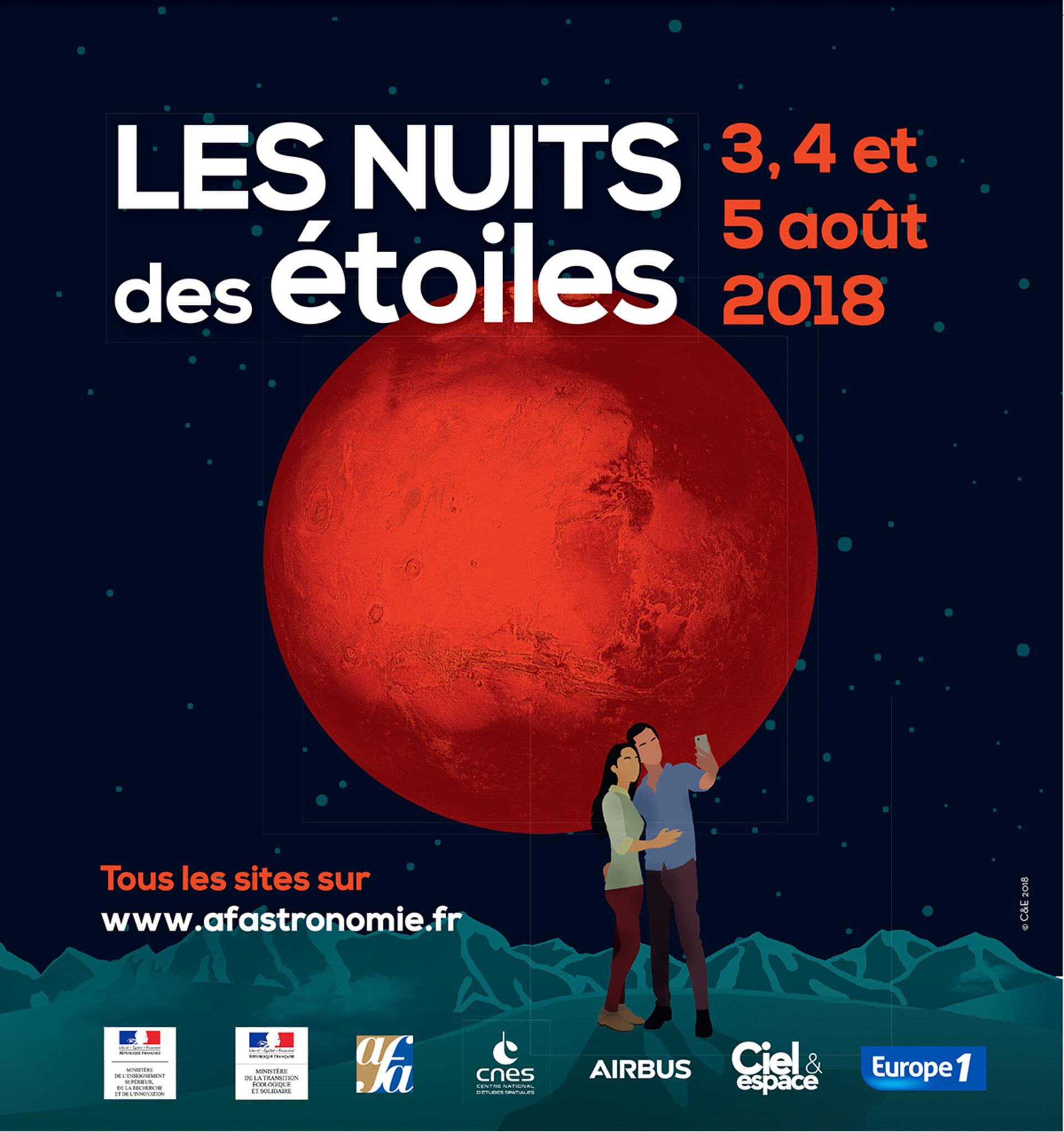 Esa 3 5 Août 2018 Nuits Des étoiles Les Manifestations