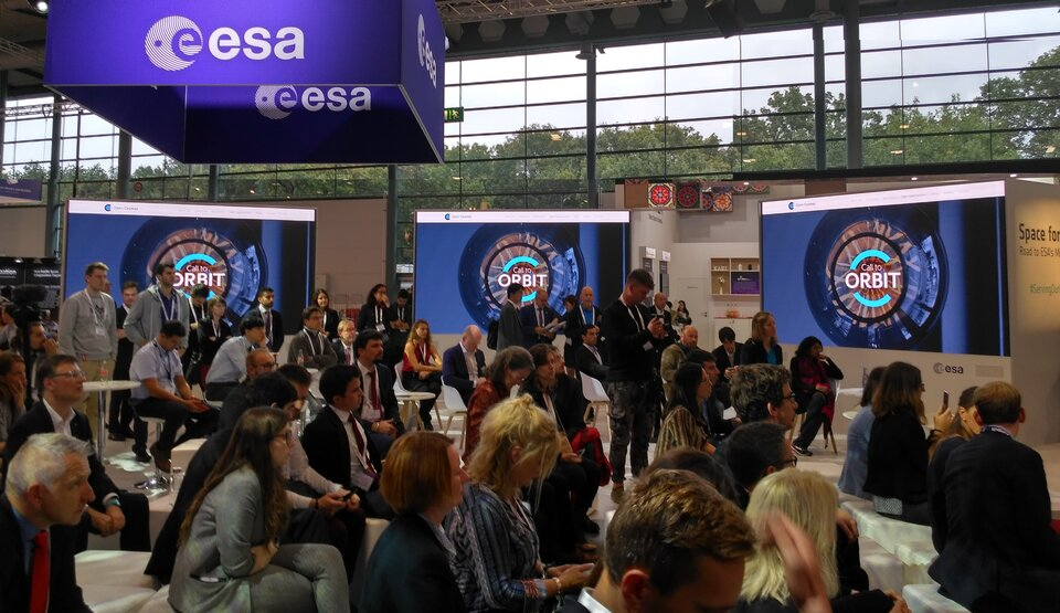 The Open Cosmos` Call To Orbit competition was announced at IAC2018