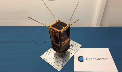 First qbee satellite now in orbit