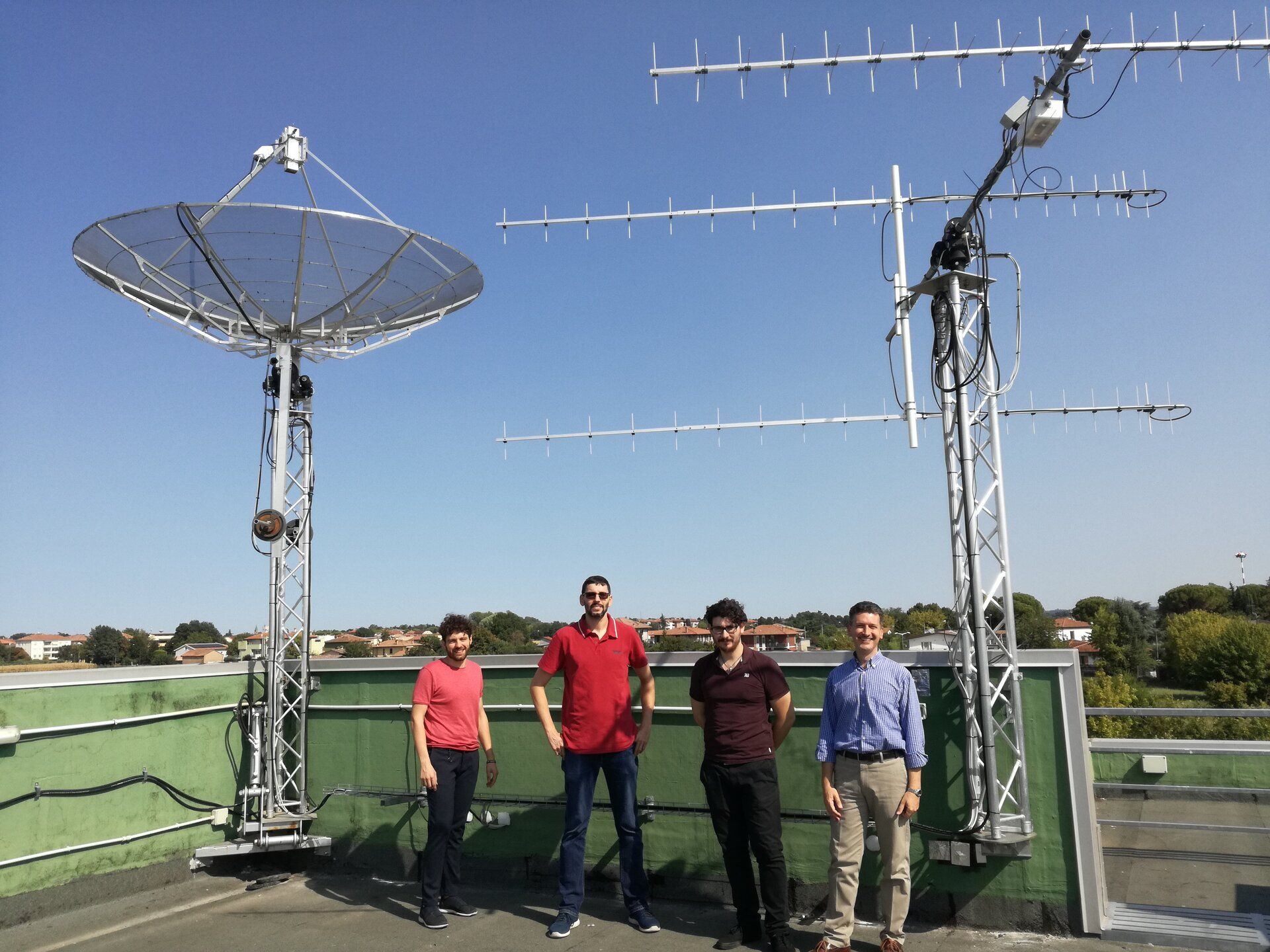 The ground station team at the University of Bologna