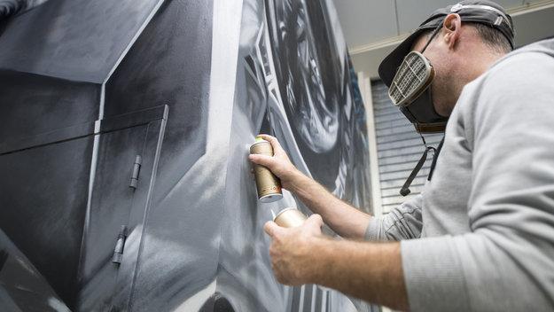 Space street art