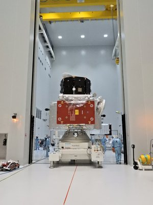 BepiColombo ministack on the move