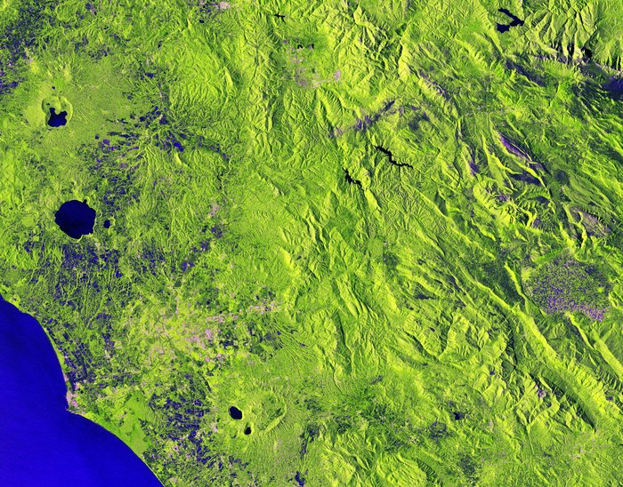 Central Italy captured by Sentinel-1B