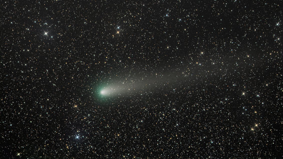 Cometary close approach