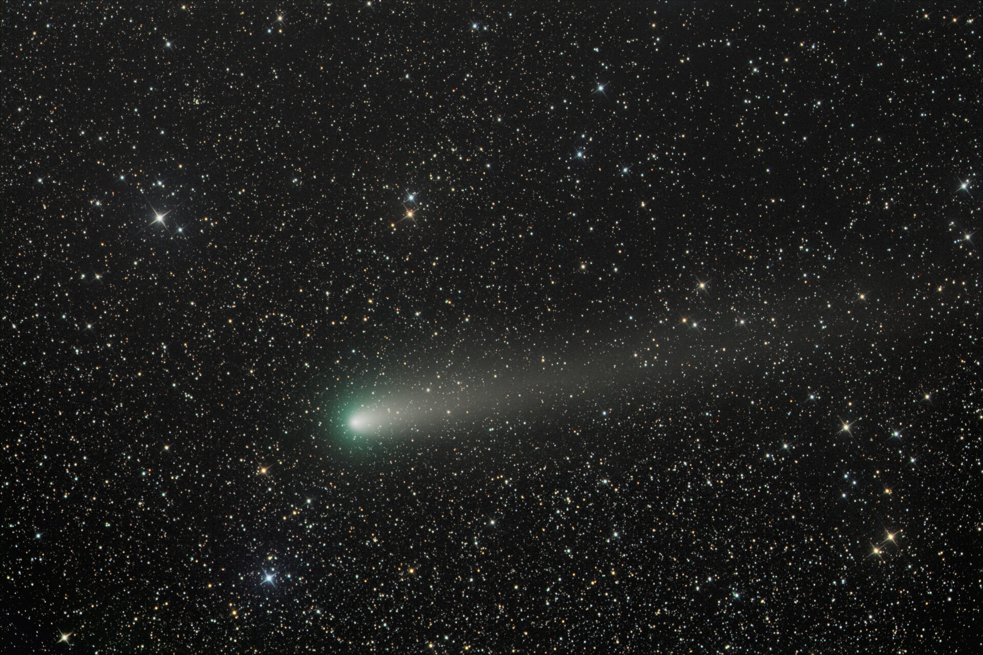 Comet 21P in cursory close approach