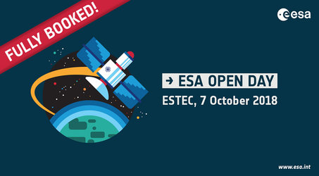 ESA Open Day 2018 is fully booked