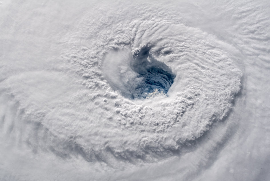 Hurricane Florence eye