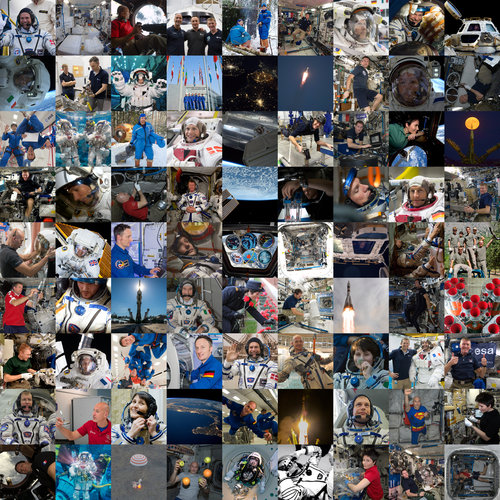 Nine years of ESA's class of 2009 astronauts