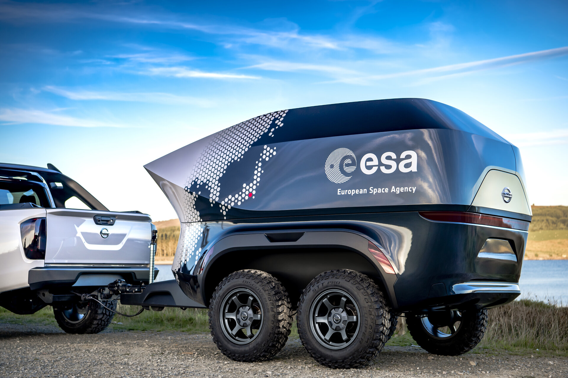 Esa Going Off Road In The Search For Dark Skies