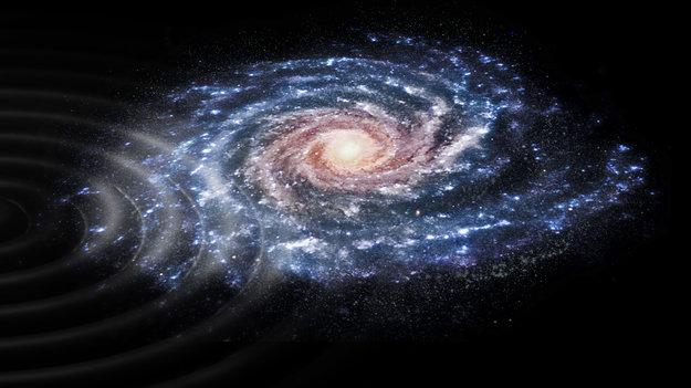 Mléčná dráha, detekovaná struktura mezi hvězdami