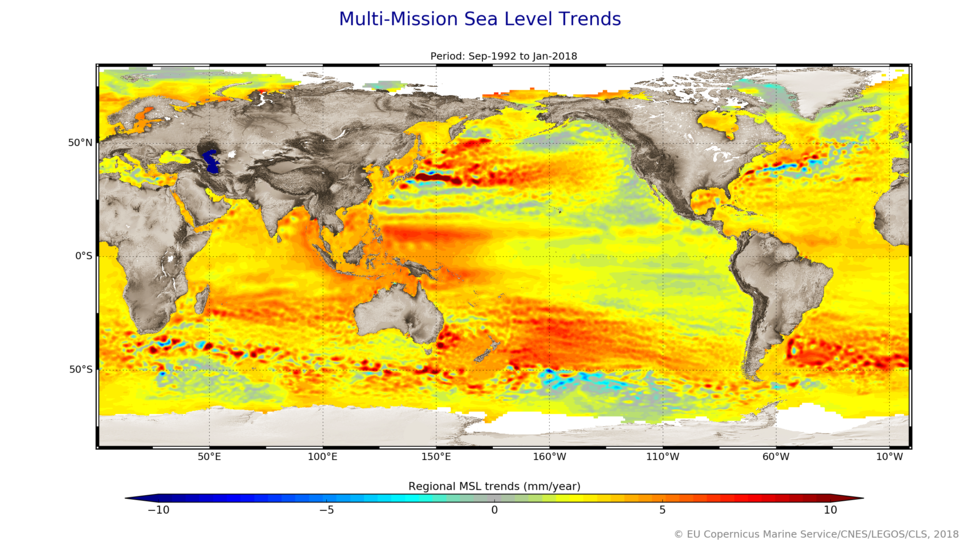 Regional sea-level trends
