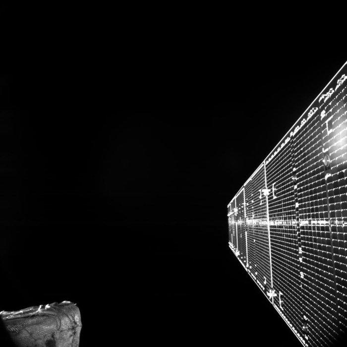 BepiColombo Uzay Aracının Uzaydan Gönderdiği İlk Görüntü