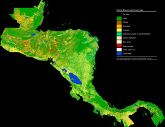 Central America land cover