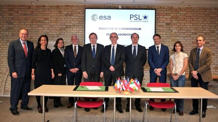 ESA_Lab@PSL agreement