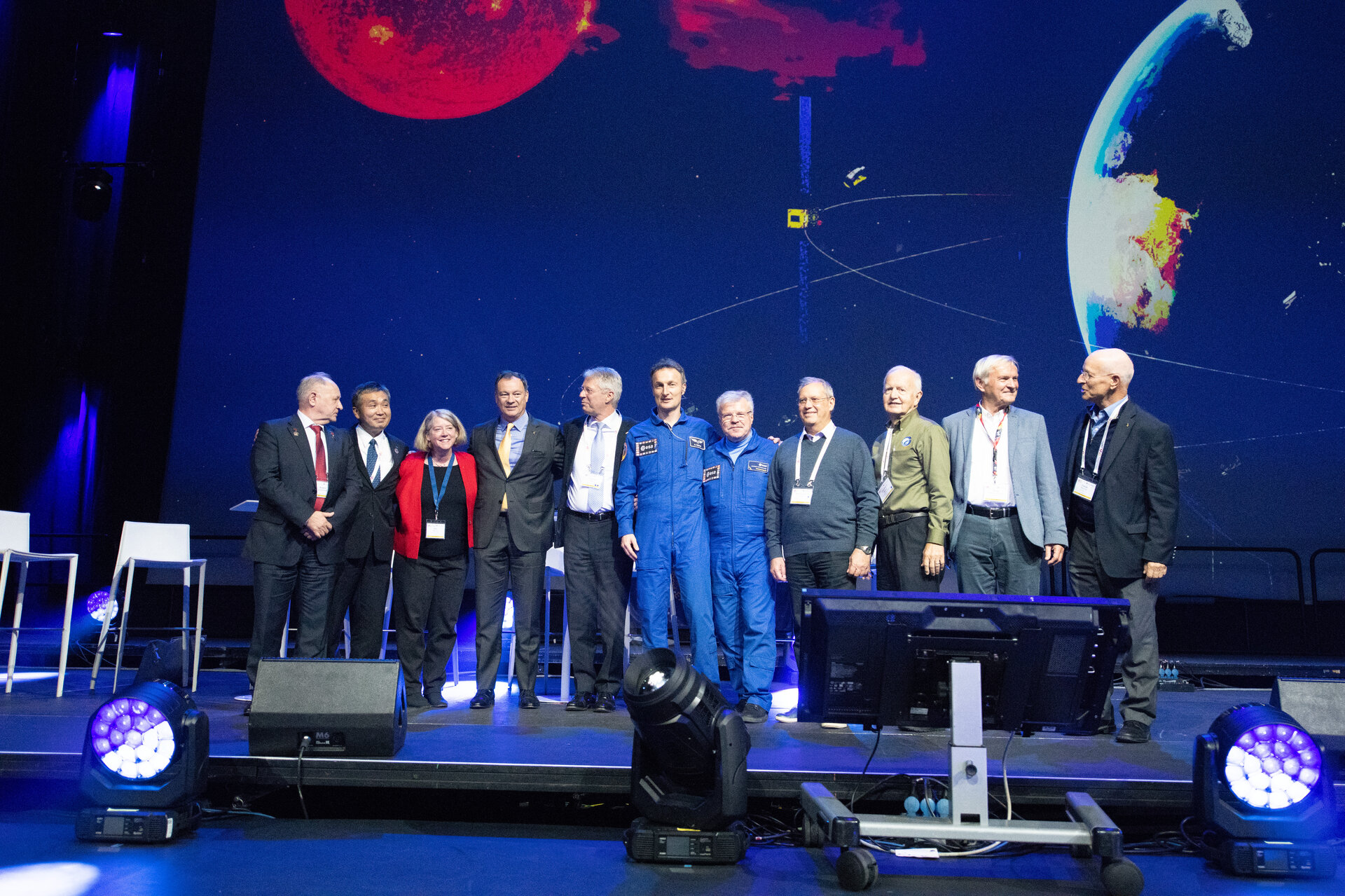 IAC2018 Public Day, Association of Space Explorers event