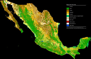 Mapping Mexico's land cover