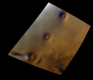 Mars elongated cloud – 17 September