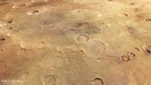 a changing crater honouring a renowned mars scientist