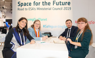 Talks between ESA and the Polish Delegation