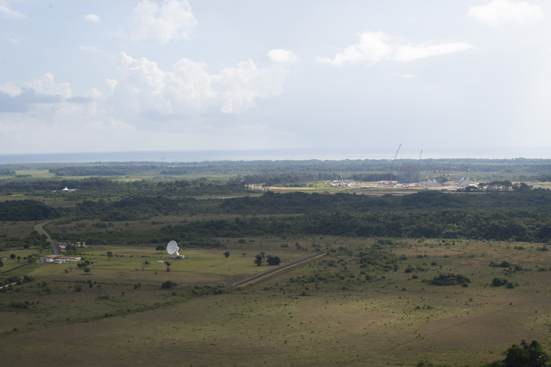 ESA's Diane station in Kourou, French Guiana
